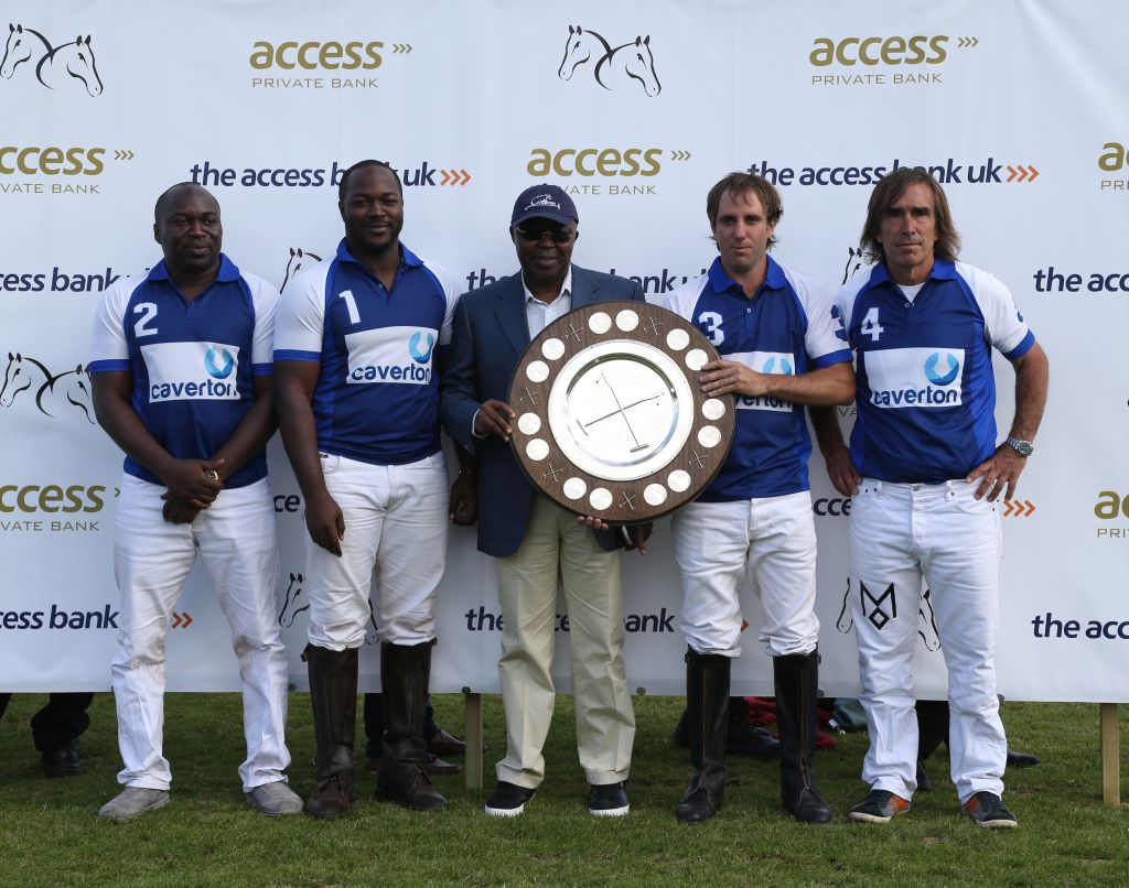 Caverto Winning Team Access Bank Charity Shield at Access Bank Polo UNICEF Fifth Chukker