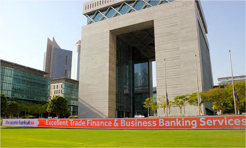 Dubai International Financial Centre (DIFC) where the Representative Office is located.