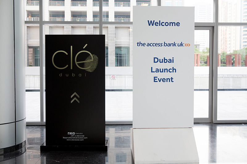 Launch venue – Micheline star restaurant Clé located in the DIFC