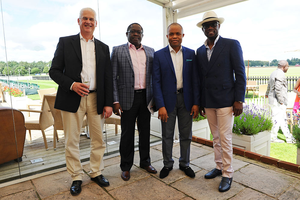 Jamie Simmonds CEO/MD The Access Bank UK Ltd, Victor Etuokwu Executive Director Access Bank Plc, Obinna Nwosu Group Deputy Managing Director and Chief Operating Officer