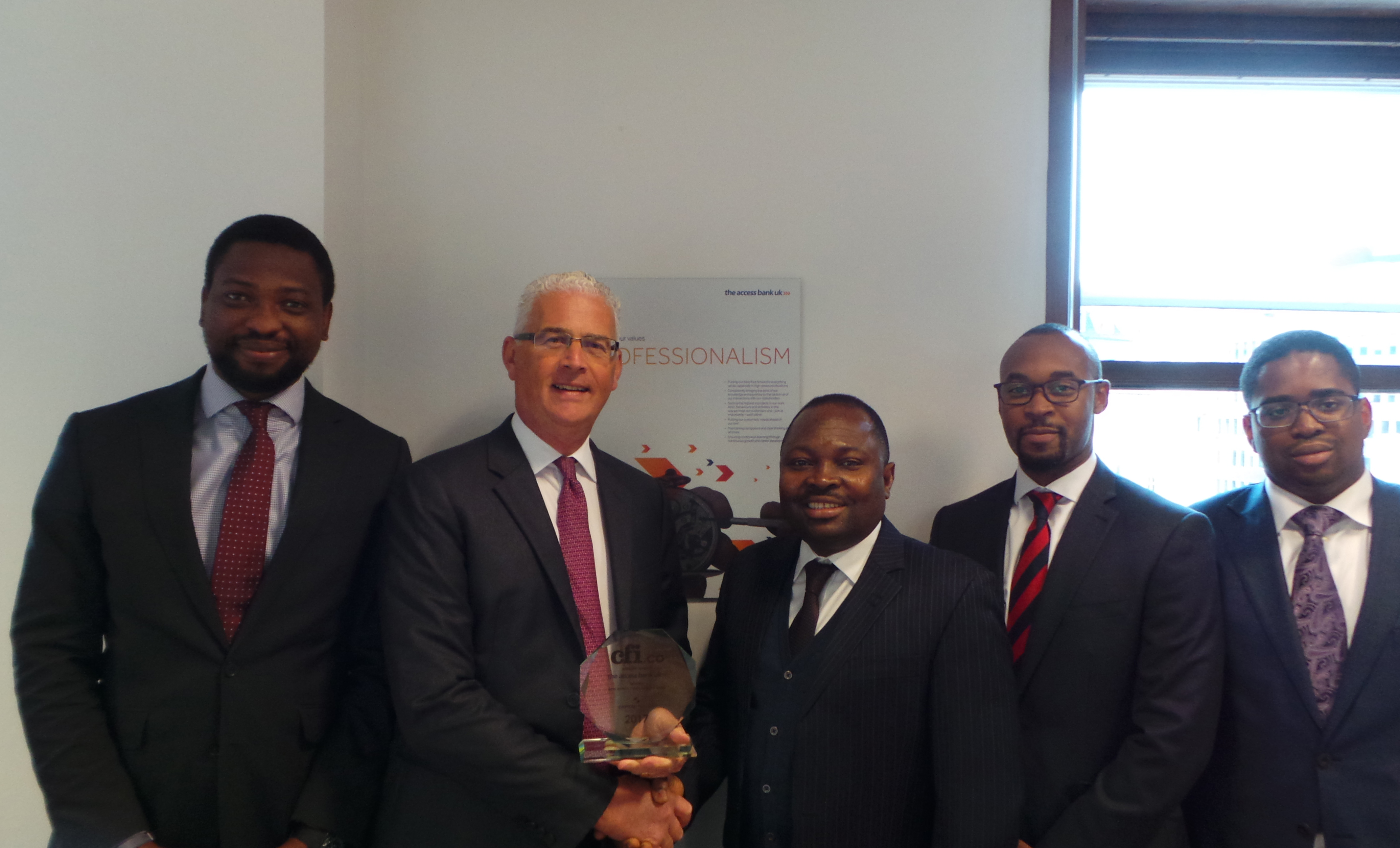 The Access Bank UK is Awarded Best Africa Trade Finance Bank for the